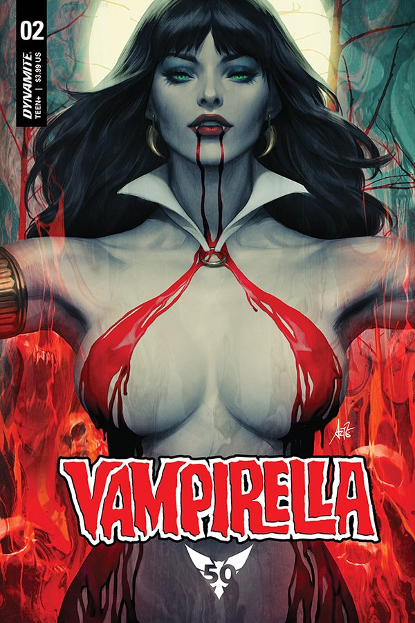 Comic Review for week of August 21st, 2019 VAMPIRELLA #2