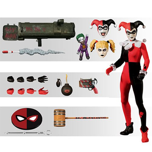 Harley Quinn Deluxe One:12 Action Figure Harley Quinn Deluxe One:12 Action Figure