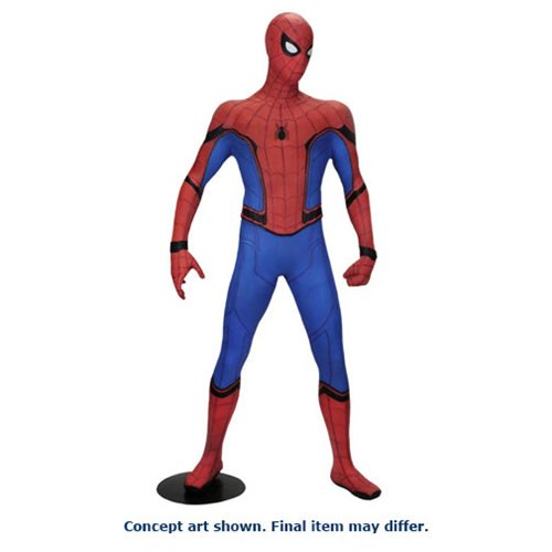 Spider-Man Homecoming Spider-Man Life-Sized Foam Figure Replica Spider-Man Homecoming Spider-Man Life-Sized Foam Figure Replica