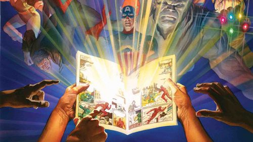 voqhfrgflys2rzol4sun 500x281 Marvel Comics #1000 is an awkward blend of event set up and anniversary tribute