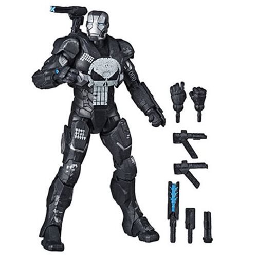 1284cadc2cdd4896ad8838b46bc816fdlg Marvel Legends The Punisher in War Machine Armor 6 Inch Action Figure   Exclusive