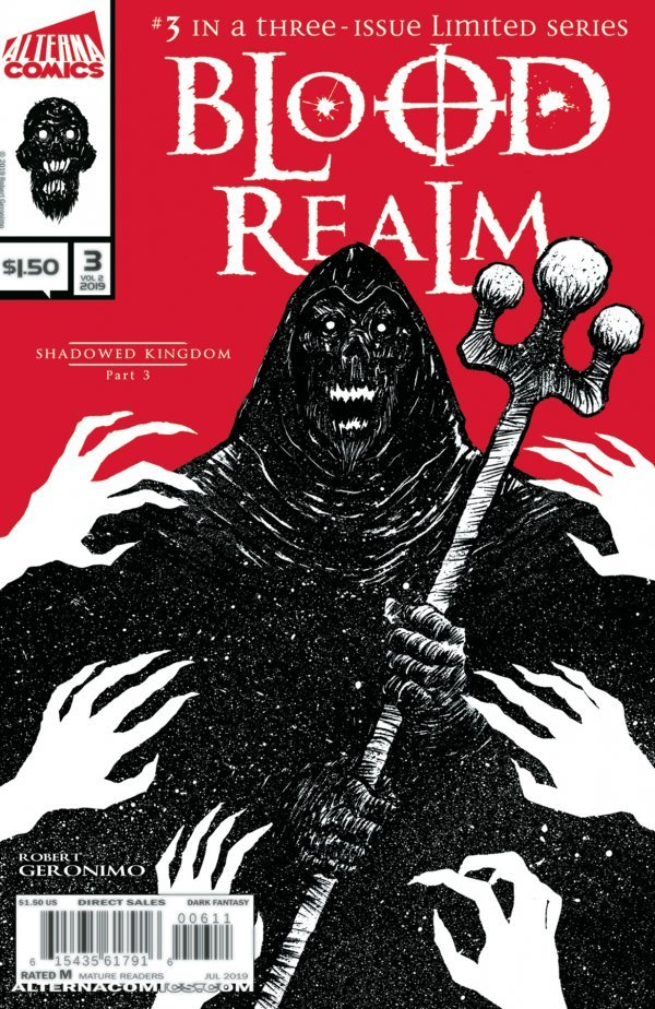 Comic Review for week of September 4th, 2019 BLOOD REALM #3