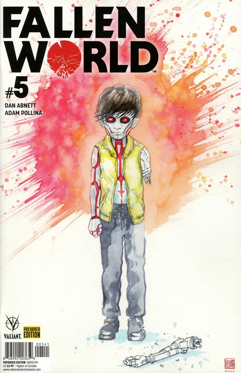 Comic Review for week of September 4th, 2019 FALLEN WORLD #5 COVER D PRE-ORDER EDITION