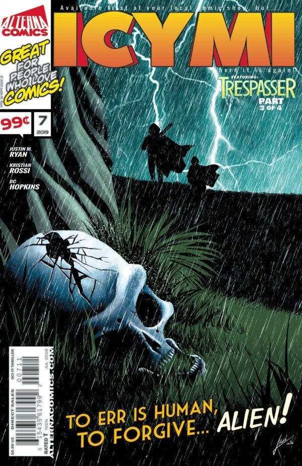 Comic Review for week of September 4th, 2019 ICYMI #7
