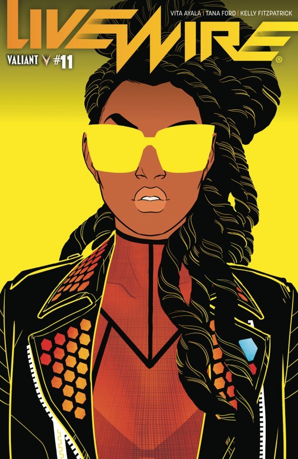 LIVEWIRE 11 COVER C WU Comic Review for week of October 9, 2019