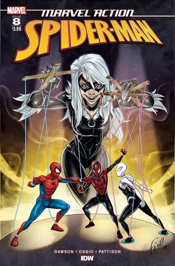 Comic Review for week of September 4th, 2019 MARVEL ACTION SPIDER-MAN #8