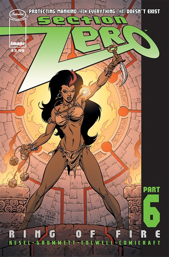 Comic Review for week of September 4th, 2019 SECTION ZERO #6