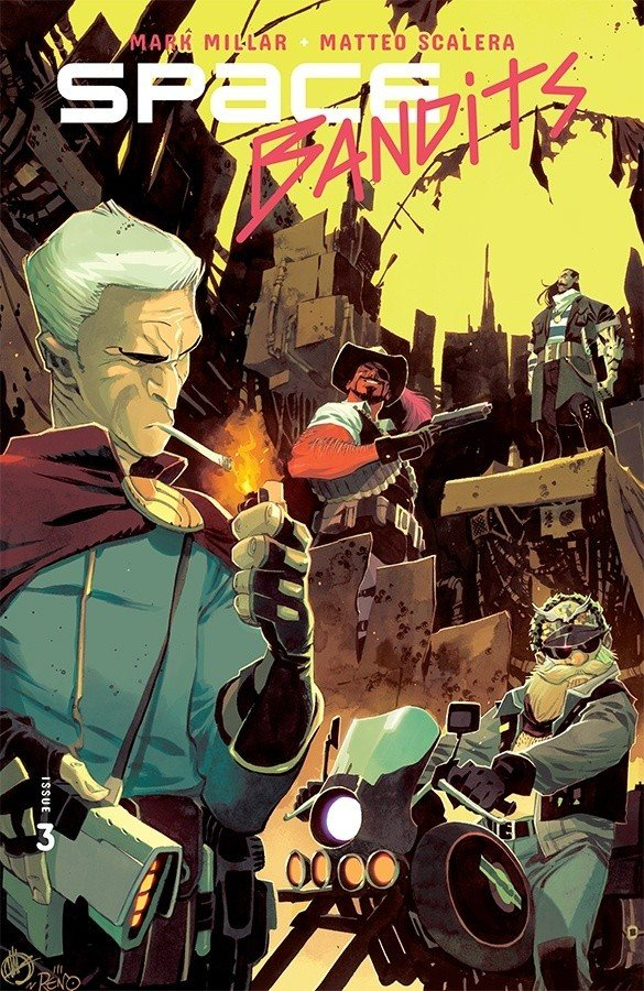 Comic Review for week of September 4th, 2019 SPACE BANDITS #3