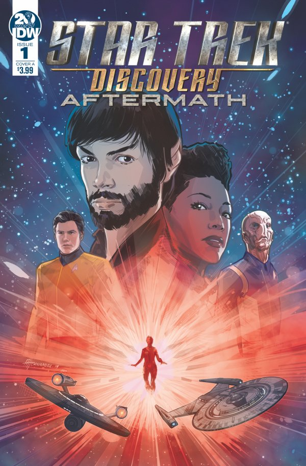 STAR TREK DISCOVERY AFTERMATH 1 Comic Review for week of September 4th, 2019