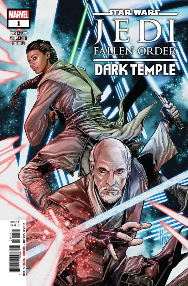 STAR WARS JEDI FALLEN ORDER DARK TEMPLE 1 Comic Review for week of September 4th, 2019