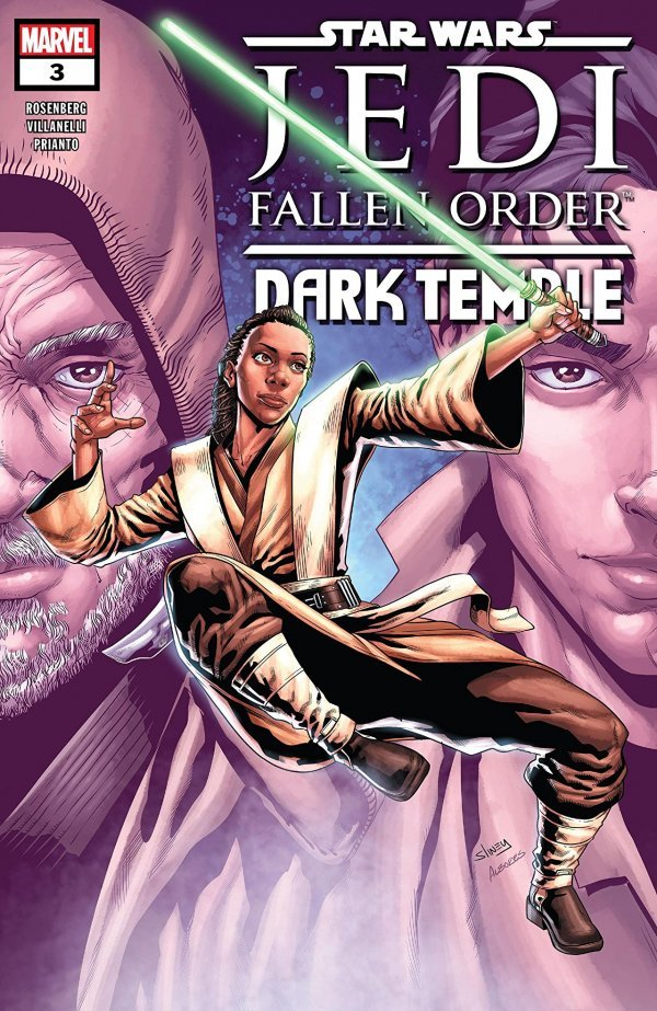 Comic Review for week of October 9, 2019 STAR WARS JEDI FALLEN ORDER – DARK TEMPLE #3