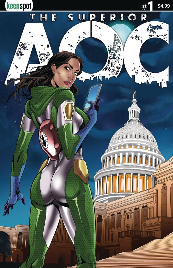 Comic Review for week of October 9, 2019 SUPERIOR AOC #1