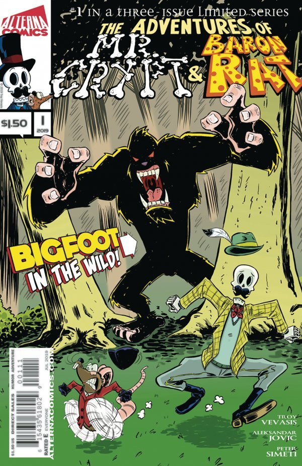 Comic Review for week of September 4th, 2019 THE ADVENTURES OF MR CRYPT & BARON RAT #1
