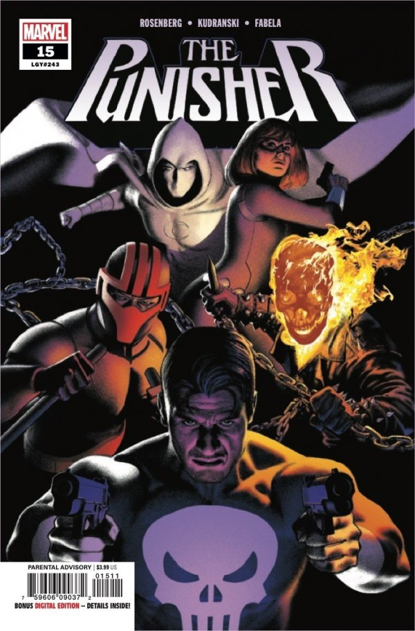 THE PUNISHER 15 Comic Review for week of September 4th, 2019