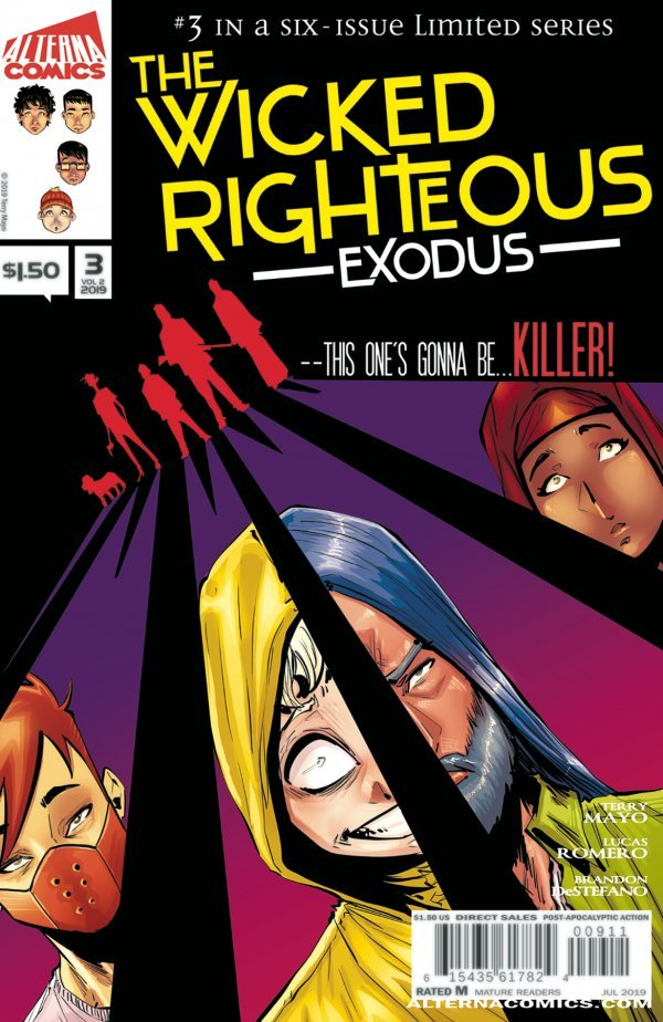 Comic Review for week of September 4th, 2019 THE WICKED RIGHTEOUS #3
