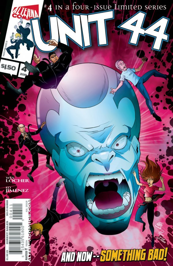 Comic Review for week of September 4th, 2019 UNIT 44 #4