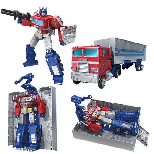 Transformers Generations War for Cybertron Earthrise Leader Optimus Prime Trailer Transformers Generations War for Cybertron Earthrise Leader Optimus Prime Trailer