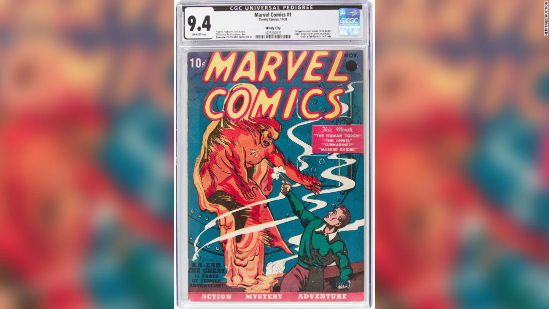 A Marvel comic book just sold for a record $1.26 million A Marvel comic book just sold for a record $1.26 million