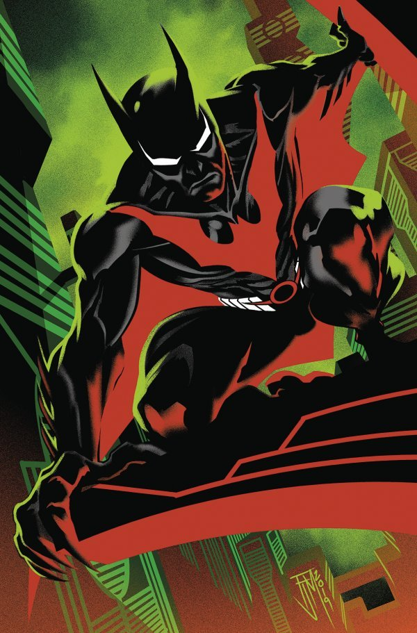 Comic Pulls from October 23, 2019 BATMAN BEYOND #37 FRANCIS MANAPUL VARIANT