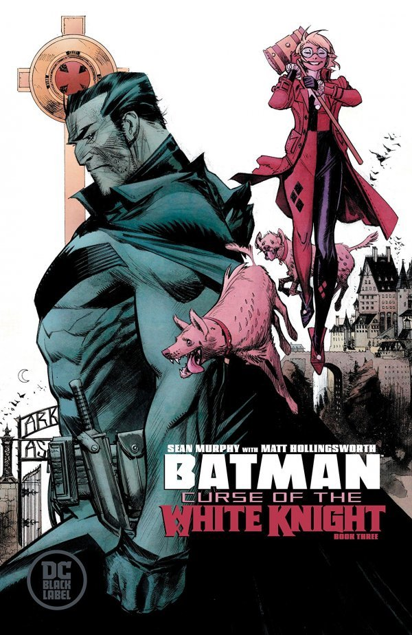 Comic Pulls from September 25, 2019 BATMAN CURSE OF THE WHITE KNIGHT #3