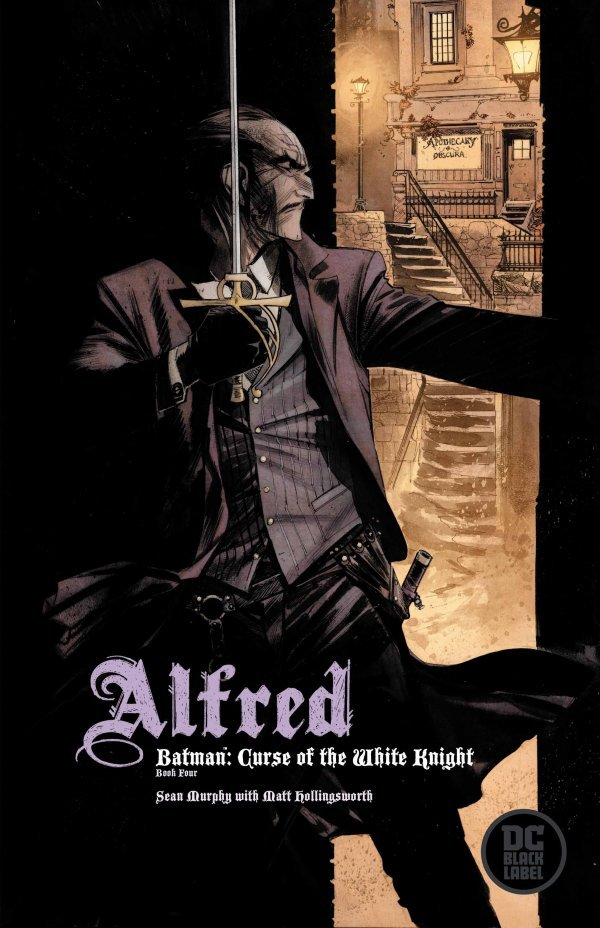 Comic Pulls from October 23, 2019 BATMAN CURSE OF THE WHITE KNIGHT #4 VARIANT EDITION