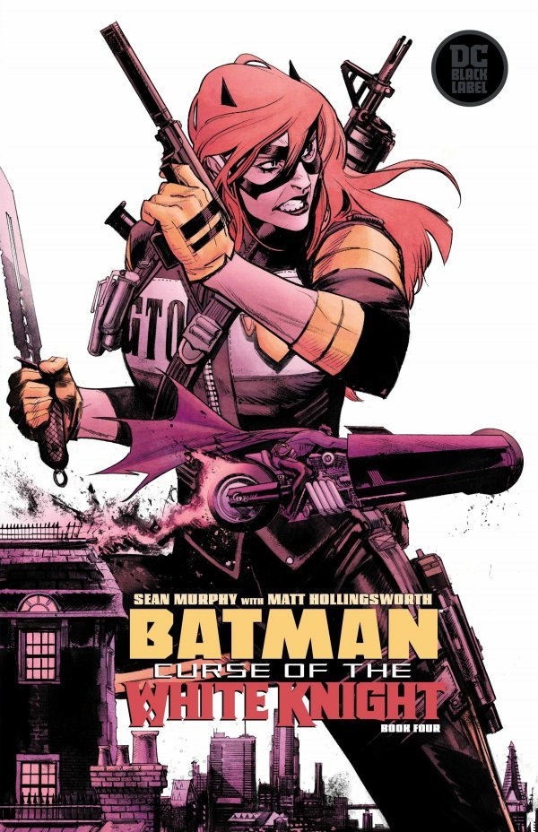 Comic Pulls from October 23, 2019 BATMAN CURSE OF THE WHITE KNIGHT #4