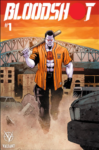 BLOODSHOT 1 BEDROCK CITY EXCLUSIVE VARIANT 99x150 Comic Pulls from September 25, 2019