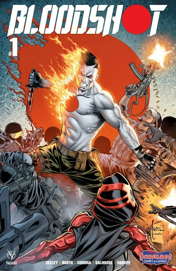 Comic Pulls from September 25, 2019 BLOODSHOT #1 BORDERLANDS EXCLUSIVE VALIANT COMICS BILLY TUCCI VARIANT