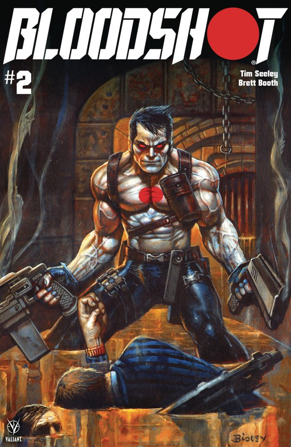 Comic Pulls from October 30, 2019 BLOODSHOT #2 COVER C BISLEY
