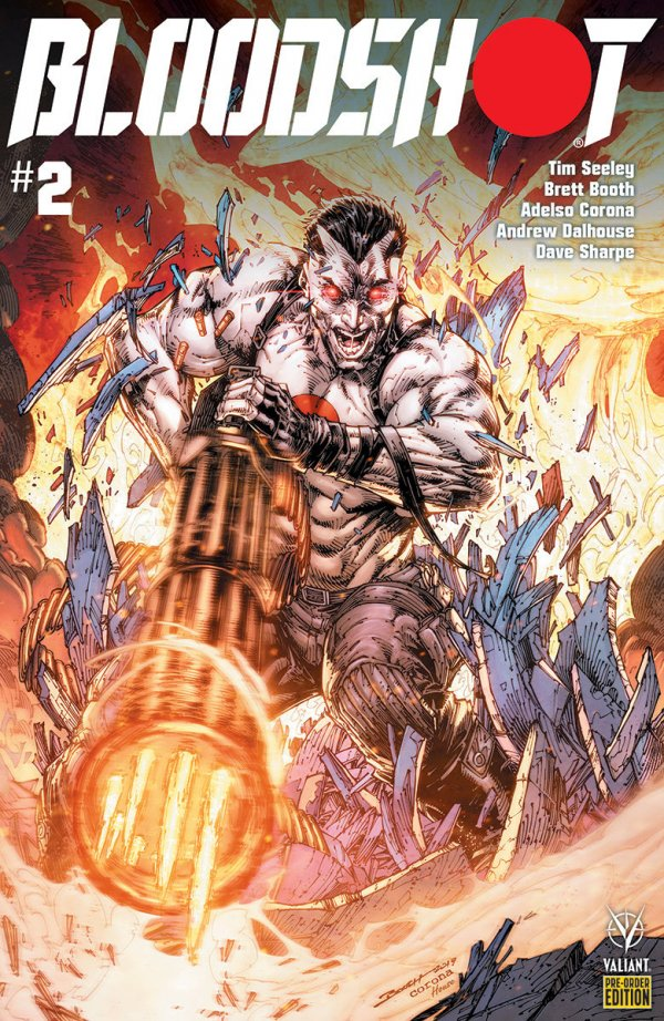 Comic Pulls from October 30, 2019 BLOODSHOT #2 COVER D PRE-ORDER EDITION