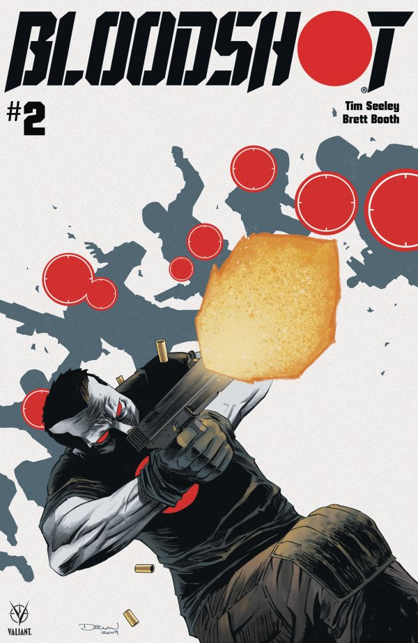 Comic Pulls from October 30, 2019 BLOODSHOT #2