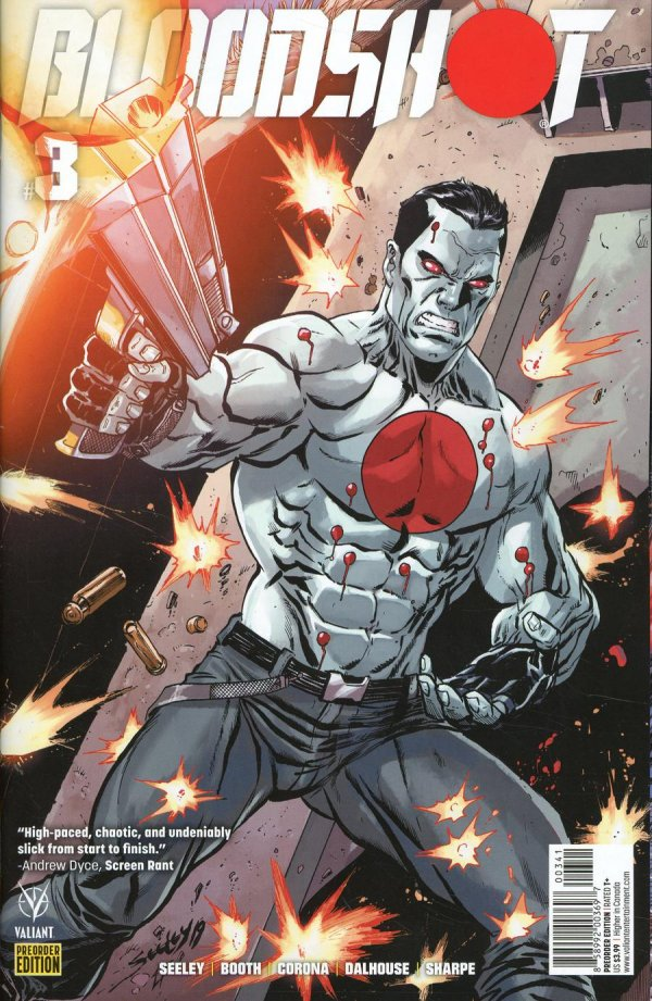Comic Pulls from November 20, 2019 BLOODSHOT #3 COVER D PRE-ORDER EDITION