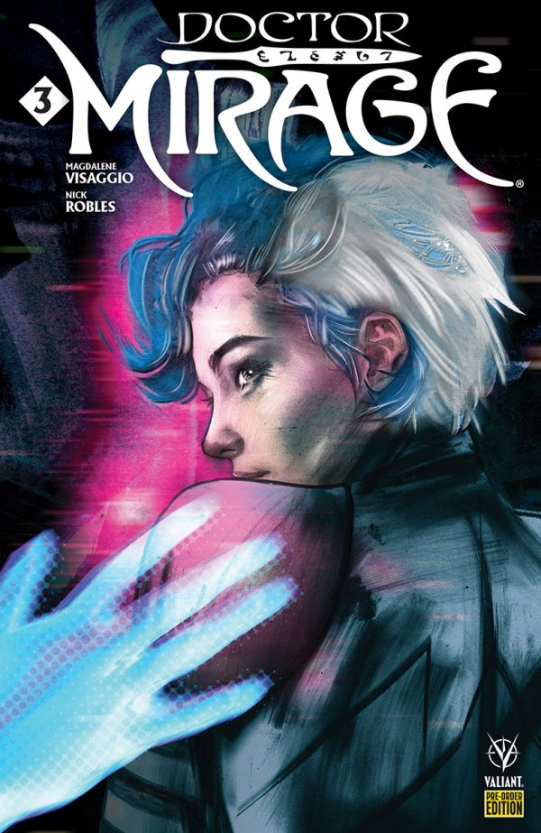 Comic Pulls from October 23, 2019 DOCTOR MIRAGE #3 COVER D PRE-ORDER EDITION