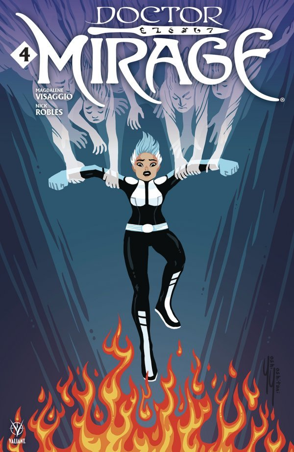 Comic Pulls from November 13, 2019 DOCTOR MIRAGE #4 COVER C YOSHITANI
