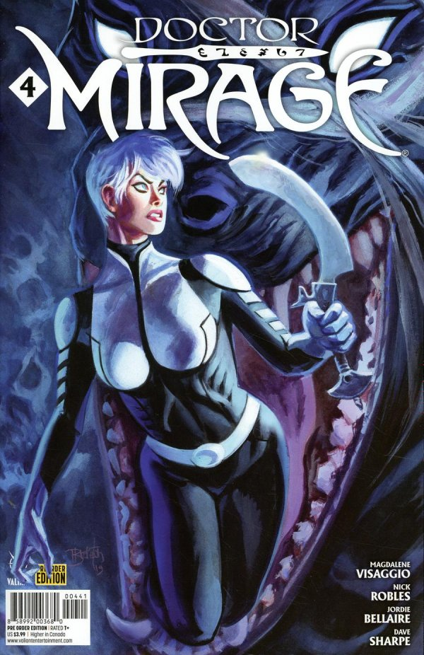 Comic Pulls from November 13, 2019 DOCTOR MIRAGE #4 COVER D PRE-ORDER EDITION