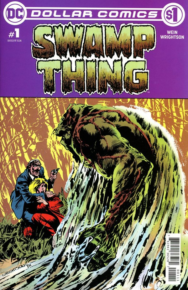 Comic Pulls from October 23, 2019 DOLLAR COMICS SWAMP THING #1