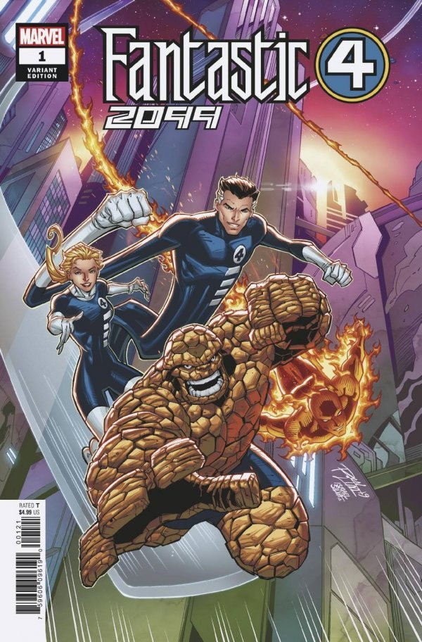 Comic Pulls from November 20, 2019 FANTASTIC FOUR 2099 #1 RON LIM VARIANT