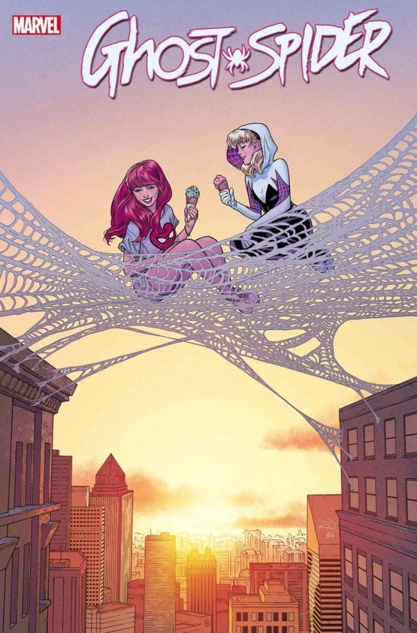 Comic Pulls from October 23, 2019 GHOST-SPIDER #3 RUSSELL DAUTERMAN MARY JANE VARIANT