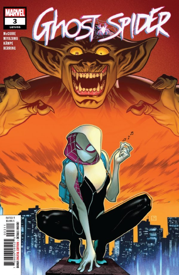 Comic Pulls from October 23, 2019 GHOST-SPIDER #3