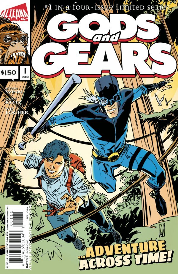 Comic Pulls from September 25, 2019 GODS AND GEARS #1