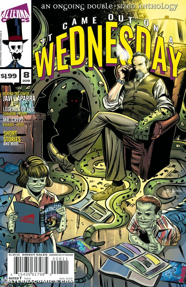 Comic Book Pulls from September 11, 2019 IT CAME OUT ON A WEDNESDAY #8