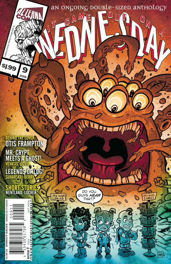 Comic Pulls from November 6, 2019 IT CAME OUT ON A WEDNESDAY #9