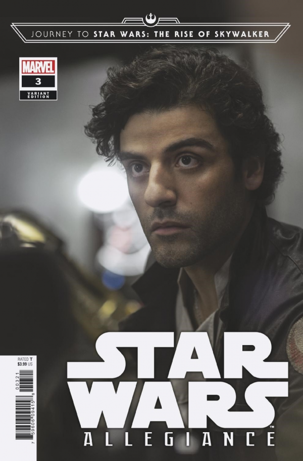 Comic Pulls from October 23, 2019 JOURNEY TO STAR WARS THE RISE OF SKYWALKER – ALLEGIANCE #3 1 in 10 MOVIE VARIANT