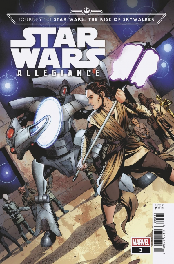Comic Pulls from October 23, 2019 JOURNEY TO STAR WARS THE RISE OF SKYWALKER – ALLEGIANCE #3 MIKE MCKONE VARIANT