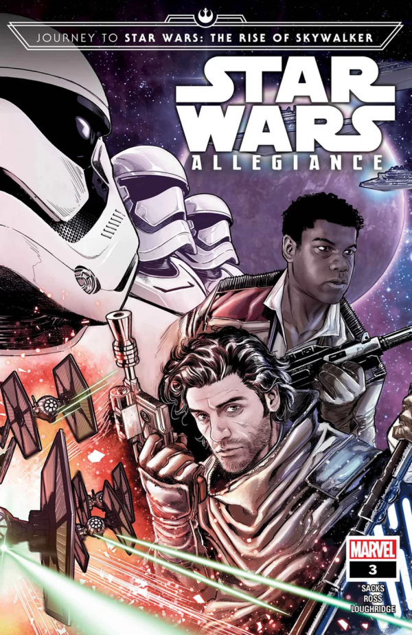Comic Pulls from October 23, 2019 JOURNEY TO STAR WARS THE RISE OF SKYWALKER – ALLEGIANCE #3