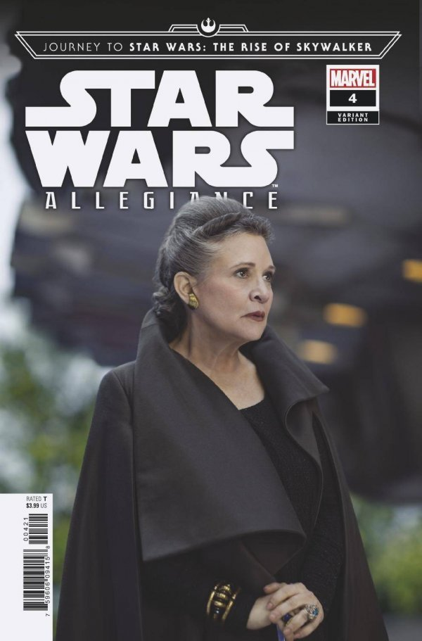 Comic Pulls from October 30, 2019 JOURNEY TO STAR WARS THE RISE OF SKYWALKER – ALLEGIANCE #4 110 MOVIE VARIANT
