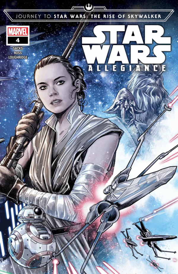 Comic Pulls from October 30, 2019 JOURNEY TO STAR WARS THE RISE OF SKYWALKER – ALLEGIANCE #4