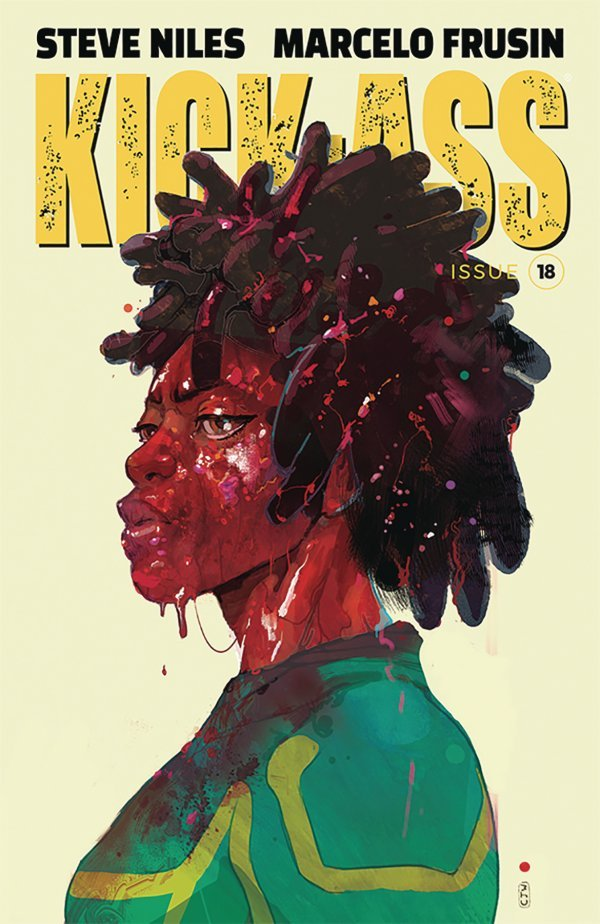 Comic Pulls from October 30, 2019 KICK-ASS #18 COVER C WARD