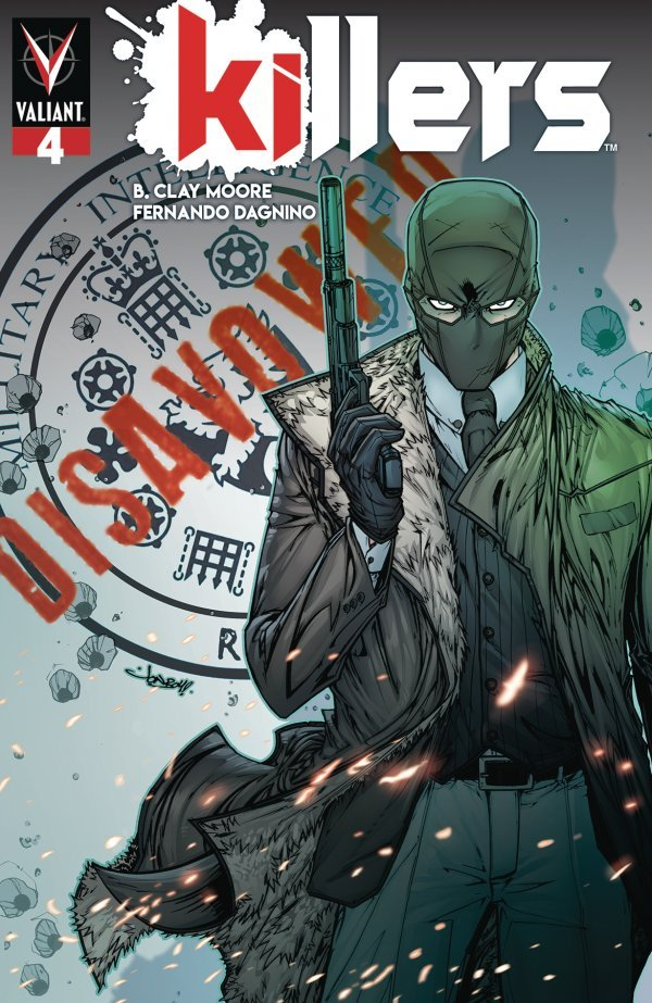 Comic Pulls from October 16, 2019 KILLERS #4