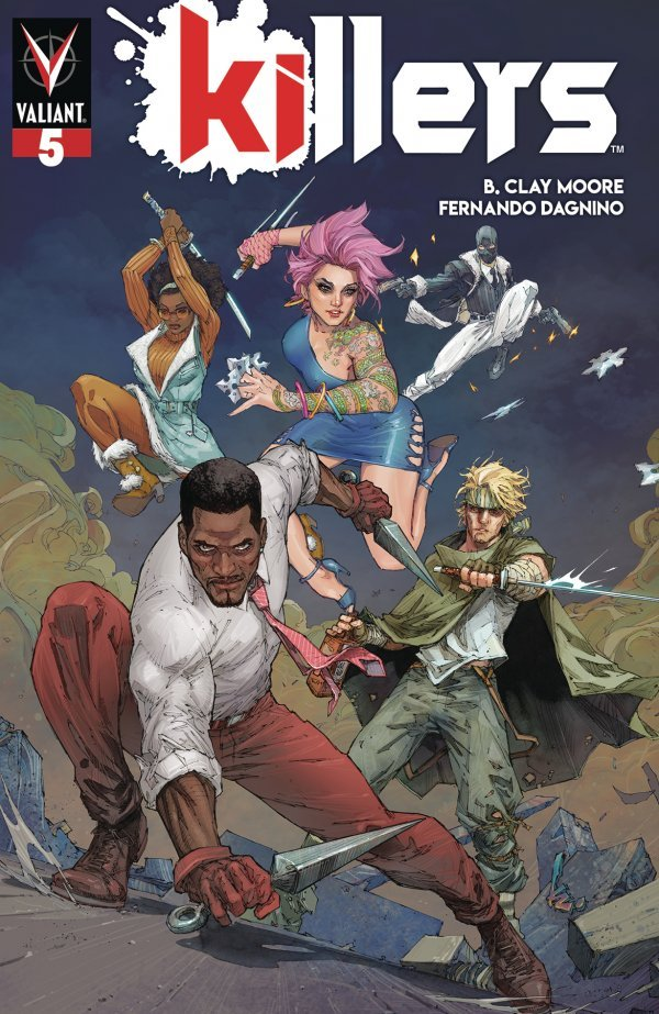 Comic Pulls from November 6, 2019 KILLERS #5 COVER B ROCAFORT